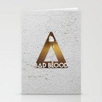 bastille Stationery Cards featuring Bastille #1 Bad Blood by Thafrayer