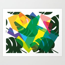 Rainforest Magic Art Print