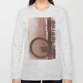 London Eye and The Southbank Long Sleeve T-shirt