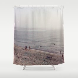 8 PM Shower Curtain