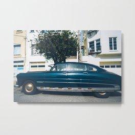 Vintage Cars and Colors in SF 3 Metal Print