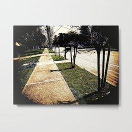 Sidewalk 921 Metal Print