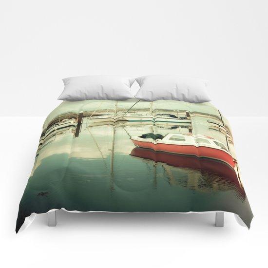 Little Orange Boat III Comforters