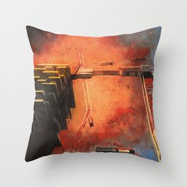 Male del male Throw Pillow