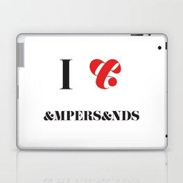 I heart Ampersands Laptop & iPad Skin
