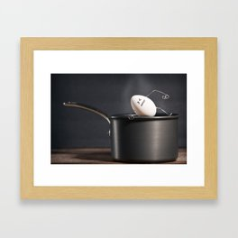 It' Too Hot Framed Art Print
