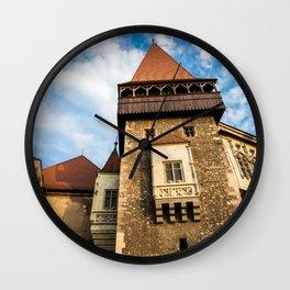Castle & Cloudscape Wall Clock
