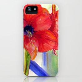 Maui Amaryllis iPhone Case