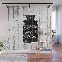 Home Sweet Home Rustic Jug Wall Mural