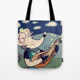 The Wandering Rat Bard Tote Bag