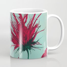 Wild Red Blooms Coffee Mug