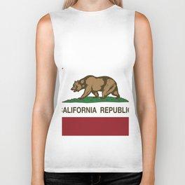 California State Flag Biker Tank