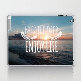 Hawaii sunset Laptop & iPad Skin
