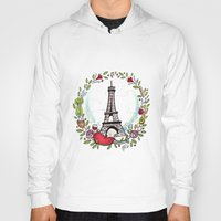 cooking Hoodies featuring French Cooking by Grace Anderson
