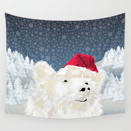 Beary Merry Christmas Wall Tapestry