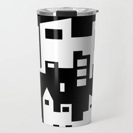 Stacked Cityscape Travel Mug