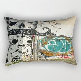 Corner Wall  Rectangular Pillow