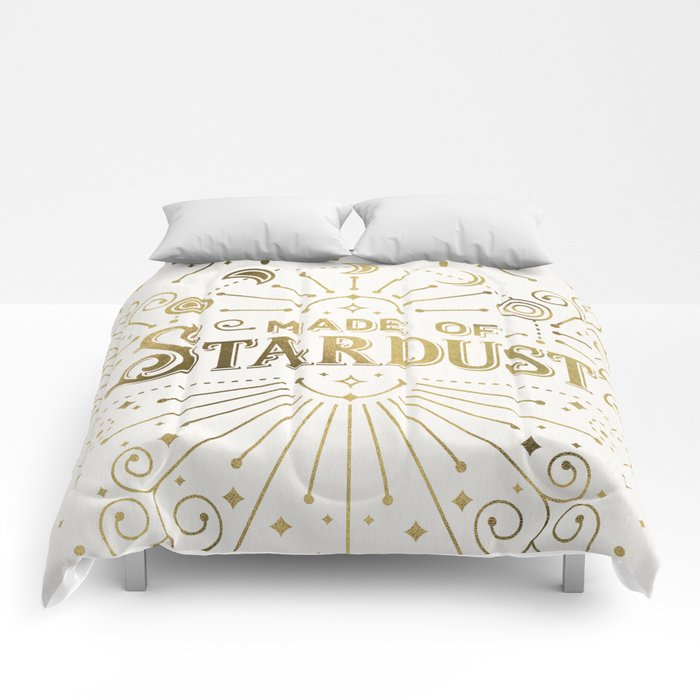 Made of Stardust – Gold Palette Comforters