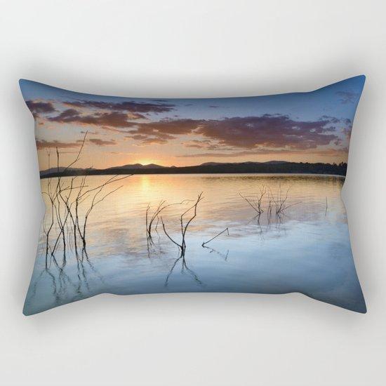 """""""Sun hidden"""" Rectangular Pillow"""