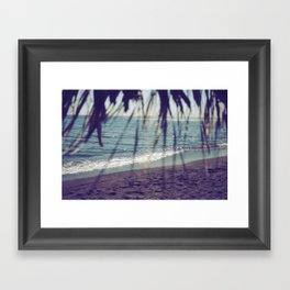 Turquoise Bliss Framed Art Print
