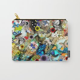 Butterfly leopard paradise Butterflies Carry-All Pouch