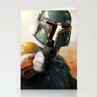 boba Stationery Cards featuring Boba by Yvan Quinet