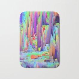 Pixel Sorting 43 Bath Mat