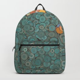 buttons fantasy blue lake Backpack