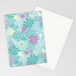 Sky of Flowers Stationery Cards