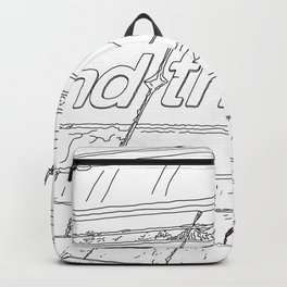 Mind the Gap - Line Art Backpack