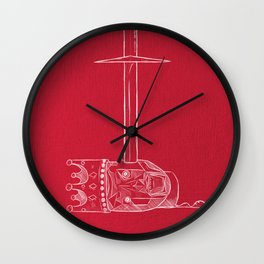 Dark Fantasy Wall Clock
