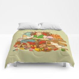 Gelatin God: Hydrocolloid Pantheon Comforters
