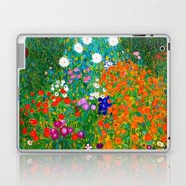 Gustav Klimt - Flower Garden Laptop & iPad Skin
