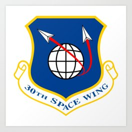 Space Force - Space Wing Art Print
