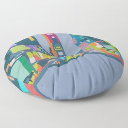 Times Square Floor Pillow