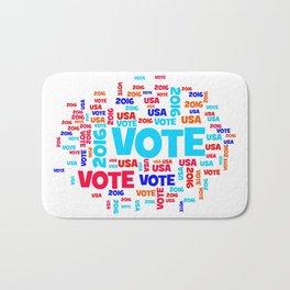 Vote USA 2016 Bath Mat
