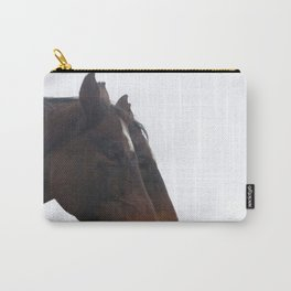 Twin Horses Photography Print Carry-All Pouch
