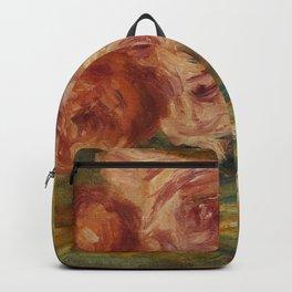 """Auguste Renoir """"Roses et Étude de Gabrielle"""" Backpack"""