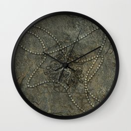 Wonderful floral design Wall Clock