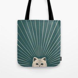 Good Morning son - Kitty Tote Bag