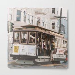 San Francisco Trolley Metal Print