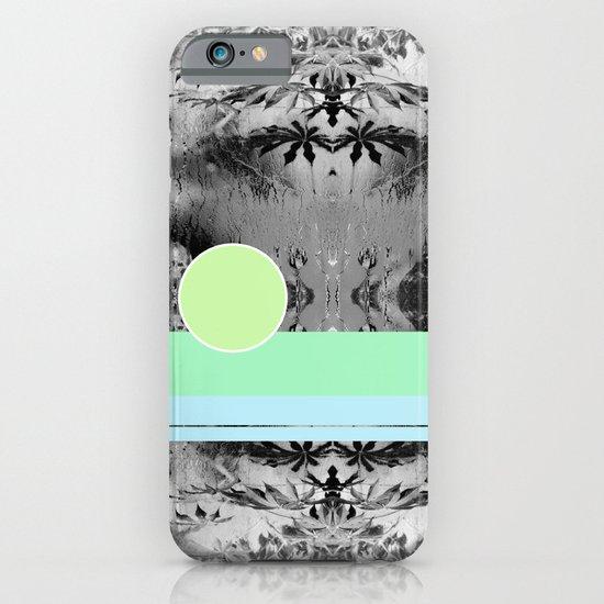 green circle iPhone & iPod Case