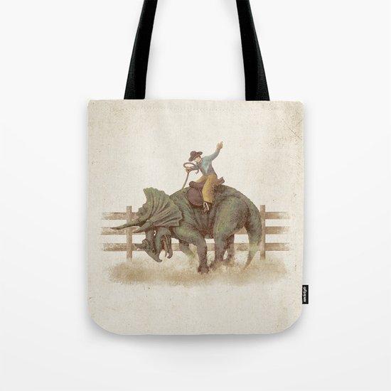 Dino Rodeo  Tote Bag