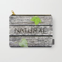Natural Carry-All Pouch