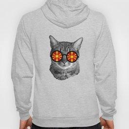 Funny Cat T-Shirt - Macedonia Hoody