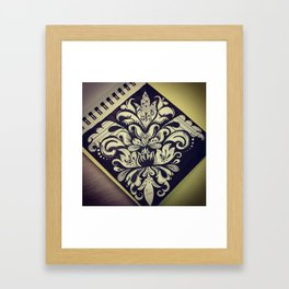 Brat Doll Art - Loud Fleur de Lis Framed Art Print