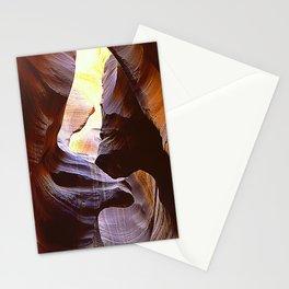 Fine Art Antelope Valley Arizona Slot Canyon Epic Photo Stationery Cards
