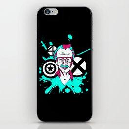 stanlee iPhone Skin