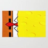 spongebob Area & Throw Rugs featuring Spongebob  by Andrian Kembara
