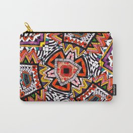 Tribal Abstract Carry-All Pouch